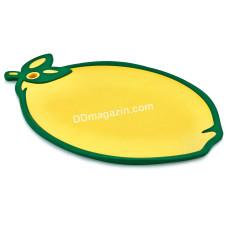 """Доска кухонная для нарезки 30*30,5 см Irak Plastik """"Лимон"""""""
