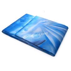 Шторка для ванной комнаты и душа, с кольцами, зонтик. ткань, 180*180 см (цвет микс)