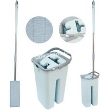 Комплект для мытья пола Zambak Plastik Smart (ведро 8 л, запаска с телескопическим кием) ZP-304