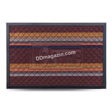 Ковер резиновый Dariana Multicolor 40*60 см с ворсовым покрытием (темно-коричневый) 1000006072