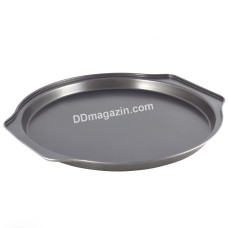 Форма для выпечки пиццы 35*33,5*2,5 см из углеродистой стали