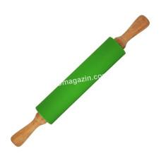 Скалка силиконовая Kamille 43,5 * 5,5 см