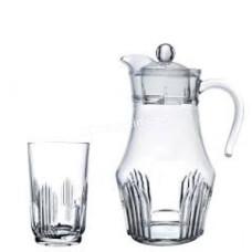 Набор для сока Arcopal Orien (кувшин 1,8 л, стаканы 270 мл 6 шт) 7 предметов 4986