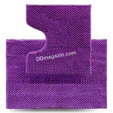 Набор ковров в ванную комнату Dariana Ананас 55 * 80 + 55 * 50 см (2шт.) (Фиолетовый) 1000006927