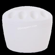 Стакан для зубных щеток (белый) 124077