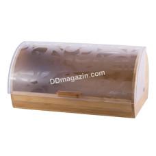 Хлебница Kamille бамбуковая 36,5*26,5*19 см KM-1104
