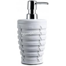 Дозатор для жидкого мыла Prima Nova, PALM, белый