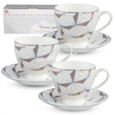 Сервиз чайный S&T Грани золота 12 пр. 220 мл (040-12-220)