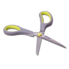 Ножницы кухонные Kamille 21,5 см универсальные из стали, пласт. ручки KM-5182