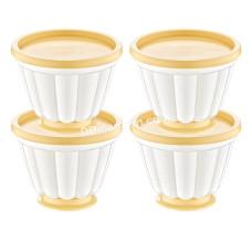 Форма для холодных порционных закусок 4 в 1 Akay plastik