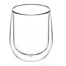 Набор стаканов Ardesto с двойными стенками для латте, 360 мл, 2 шт., Боросиликатное стекло