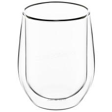 Набор стаканов Ardesto с двойными стенками для латте, 320 мл, 2 шт., Боросиликатное стекло