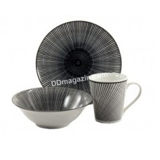 Набор для завтрака Космо black 3 предмета