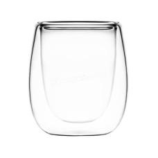 Набор стаканов Ardesto 80 мл, с двойными стенками для эспрессо, H 7,3 см, 2шт, Боросиликатное стекло