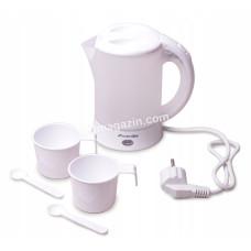 Чайник электрический Kamille 0,6л + 2 кружки KM-1718A
