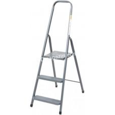Лестница металлическая Drabest, 3 ступени, высота 2,44 м
