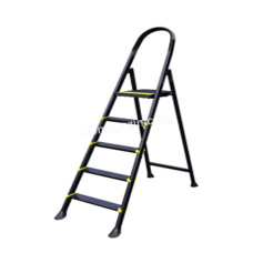 Лестница металлическая Drabest, 5 ступеней, высота 2,90 м