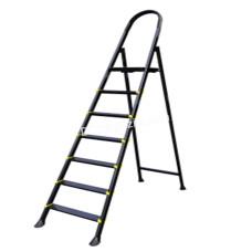 Лестница металлическая Drabest, 7 ступенек, высота 3,36 м