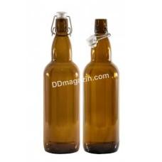 Бутылка стеклянная EverGlass 1000 мл с бугельной пробкой