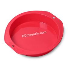 Форма силиконовая для выпечки Kamille круглая 27.8*25.8*5.2 см KM-7751