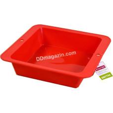Форма силиконовая для выпечки Kamille прямоугольная 26.1*24.5*6.0 см KM-7754