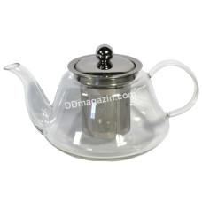Чайник-заварник Interos стеклянный с ситом 1000 мл