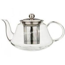 Чайник-заварник Kamille 600 мл, со съемным ситечком (стекло, нержавеющая сталь) KM-1601