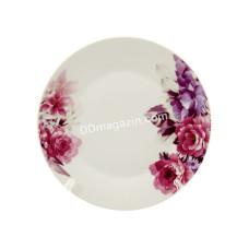 Тарелка Interos Пион мелкая d-17,5 см