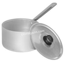 Ковш Калитва 0,75 л, алюминиевый с крышкой и ручкой металл. 14702 КА