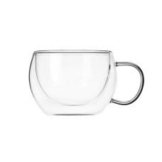 Набор чашек Ardesto 300 мл, h-7,5 см, с двойными стенками, 2шт, Боросиликатное стекло -20 до + 150 ° C AR2630GH
