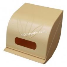 Держатель для туалетной бумаги пластиковый Горизонт