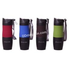 Чашка-термос 480 мл Kamille из нержавеющей стали (красная, синяя, коричневая, зеленая) KM-2067