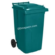 Бак мусорный 240 л (синий) 122068
