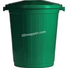 Бак для мусора с крышкой 50 л, d-44см, h-45см
