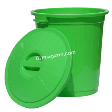 Бак для мусора с крышкой 70л, d-48 см, h-50 см