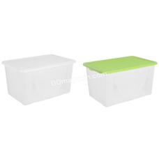 Контейнер для хранения вещей 40 л (56,5*37*30 см) (цвет в ассортименте) 122044