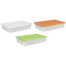 Контейнер для хранения вещей 45 л (76,5*54,5,5 см) (цвет)122045