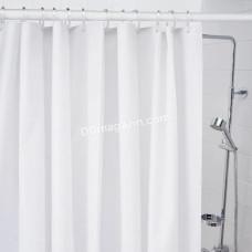 Карниз в ванную комнату Besser, раздвижной 70-120 см, белый