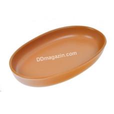 Форма для выпечки овальная Keramia Терракота керамика 32 см