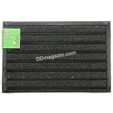 Ковер резиновый Dariana Grass Stripe 45 * 75 см с ворсовым покрытием (черный) 1000006750