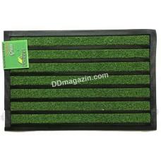 Ковер резиновый Dariana Grass Stripe 45 * 75 см с ворсовым покрытием (зеленый) 1000006751