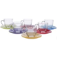 Сервиз чайный Luminarc Rainbow 220мл, 12предметов 4217