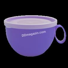 Чашка с крышкой 0.5 л (цвет микс)168006