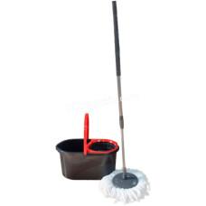 Комплект для мытья пола Zambak Plastik Mop Style (ведро + швабра)