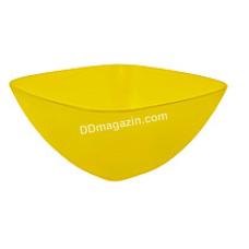 Салатница глубокая 12*12*5.5 см (желтый) 168001