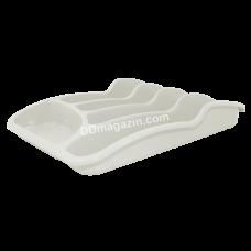 Лоток для столовых приборов Алеана (белая роза)167095