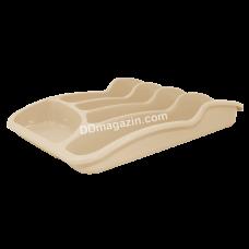 Лоток для столовых приборов Алеана (какао)167095