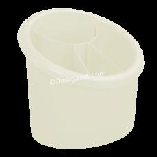Подставка для столовых приборов (овальная) 15,3*12,5см (фрезия)167094