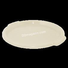 Поднос круглый Алеана d-38,8 см*2,5 см (какао) 167098