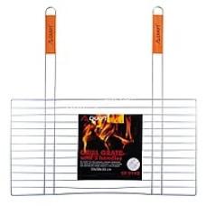 Решетка для гриля, 58*30 см, антипригарная с двумя деревянными ручками KM-0742